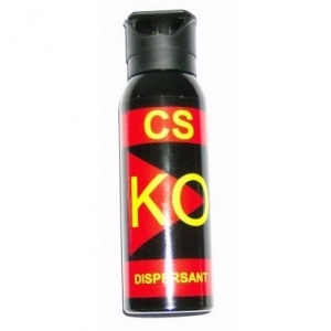 Spray CS-KO cu dispersie fina iritant-lacrimogena  150 ml